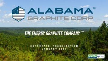 THE ENERGY GRAPHITE COMPANY