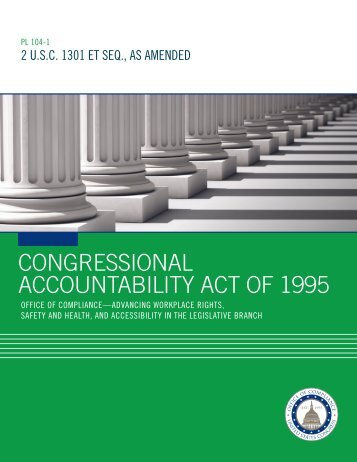 CONGRESSIONAL ACCOUNTABILITY ACT OF 1995
