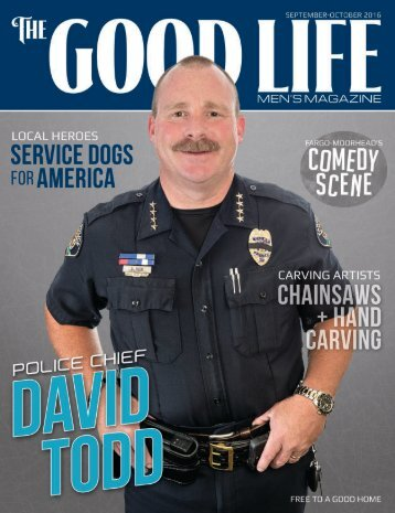 The Good Life Men's Magazine - Sept/Oct 2016