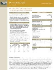 Davis Global Fund - Noramco