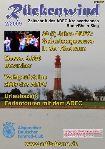 2/2009 - ADFC Bonn/Rhein-Sieg - (ADFC), Kreisverband Bonn ...
