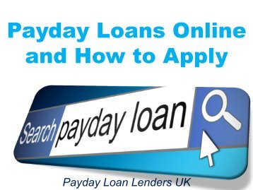 Online Payday Loans | Advance | Direct Lender | Check `n Go