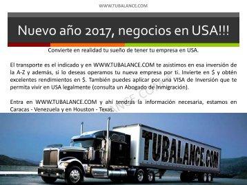 Nuevo año 2017 negocios en USA!!!