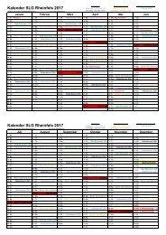Kalender 2017 Rheinfels