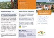 Ganzheitliches Konzept für Leib und Seele - Klinik Niederrhein
