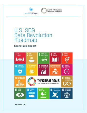 U.S SDG Data Revolution Roadmap