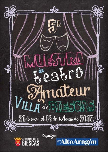 Programa V Muestra de Teatro Amateur Villa de Biescas