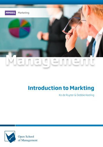 MM001 Introduction to Marketing (Excerpt)