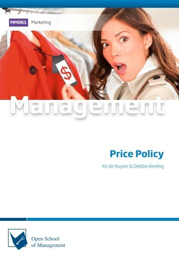 MM061 Price Policy (Excerpt)