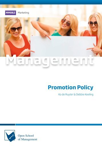 MM062 Promotion Policy (Excerpt)