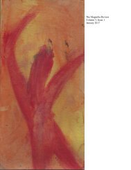 The Magnolia Review Volume 3 Issue 1 January 2017