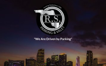 RS Parking & Valet Services, Inc.  Brochure