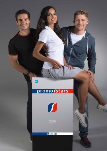 Рекламен каталог Promostars2016 (тексил/мода)