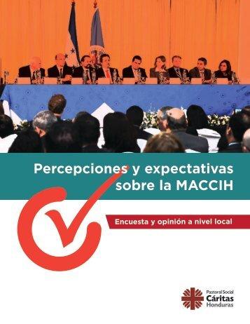 Percepciones y expectativas sobre la MACCIH