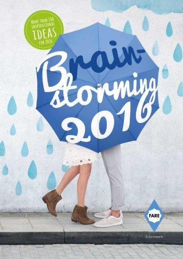 Рекламен каталог Fare 2016 (чадъри)