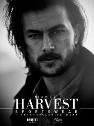 Рекламен каталог  James Harvest 2016 (текстил/мода)