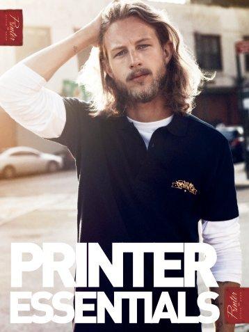 Рекламен каталог Printer 2016 (текстил/мода)