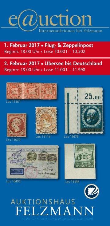 Auktionshaus Felzmann - Auktion-1013 - Philatelie