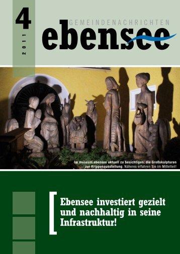 [Ebensee investiert gezielt und nachhaltig in seine Infrastruktur!