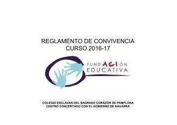 REGLAMENTO DE CONVIVENCIA 2016-2017