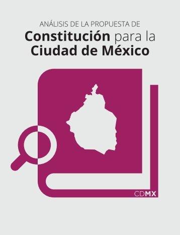 Constitución para la Ciudad de México