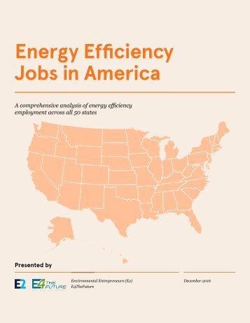Energy Efficiency Jobs in America