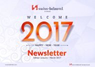 Newsletter Janury - March 2017 Swiss Belhotel Jambi