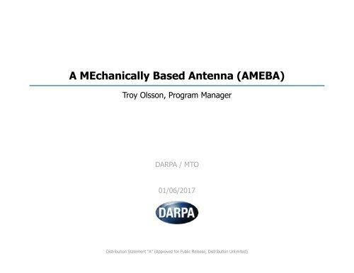 A MEchanically Based Antenna (AMEBA)