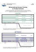 Bahneinteilung Sommer-Training - DLRG Vallendar e.V. - Page 4