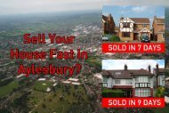 Sell your house fast in Aylesbury