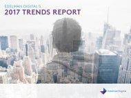 2017 TRENDS REPORT