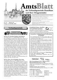 Vereinsnachrichten - Fischer Druck + Verlag