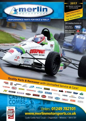 Merlin Motorsport 2017 Catalogue