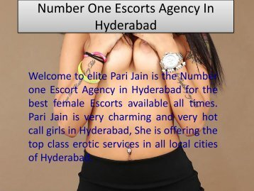 Number One Escorts Agency In Hyderabad