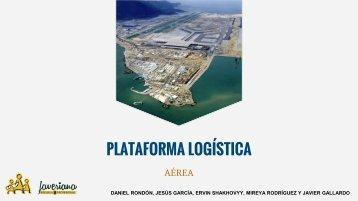 Trabajo plataforma logistica aérea