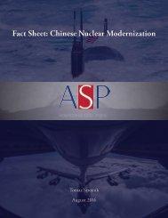 Fact Sheet Chinese Nuclear Modernization