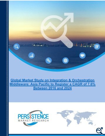 Integration and Orchestration Middleware Market to Extent an Assessed value of US$ 15.29 Bn by 2024