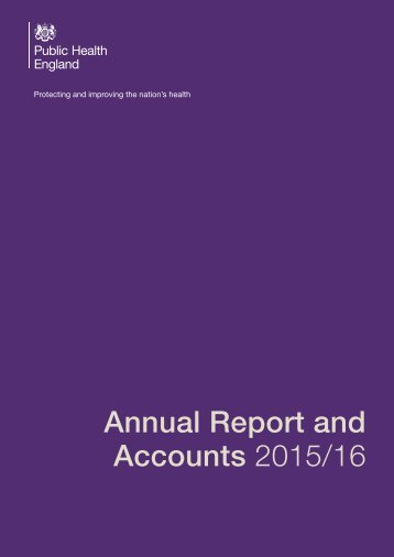 Annual Report and Accounts 2015/16