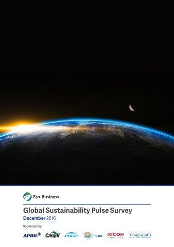 Global Sustainability Pulse Survey
