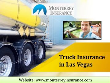 Truck Insurance in Las Vegas
