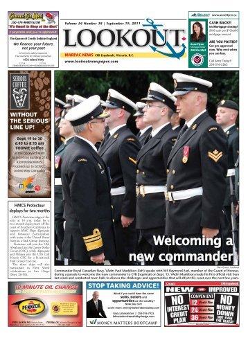 September 19, 2011 Volume 56 #38 - Lookout Newspaper