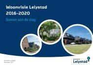 Woonvisie Lelystad 2016-2020