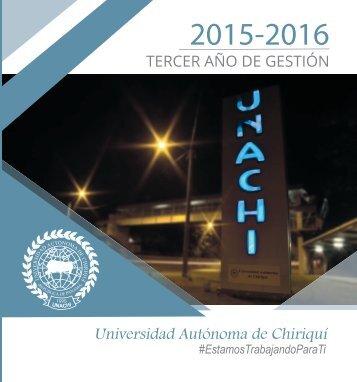 Rendicion de cuentas - Tercer año de gestion 2015 -2016