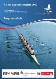 Freiheit, neues Konto, viele Vorteile - Kölner Regatta-Verband e.V.