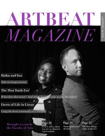 ARTBEAT Issue 02 January 2017