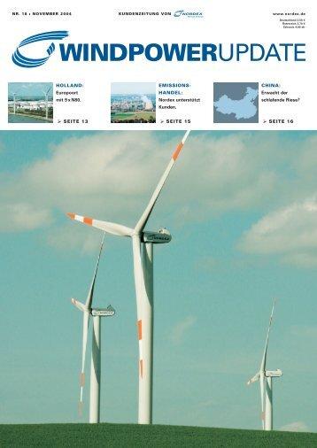 Download WindpowerUpdate 18 - Nordex
