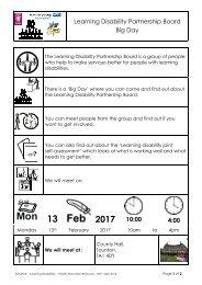 LDPB Big Day easy read invite- Feb 2017