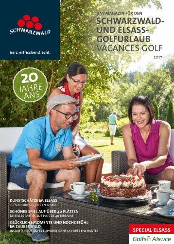Schwarzwald- und Elsass-Golfurlaub 2017