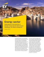 Energy sector