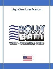 AquaDam Gulf Coast User Guide